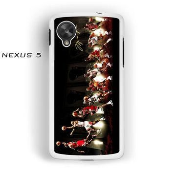 Michael Jordan For Nexus 4/Nexus 5 Phone case ZG