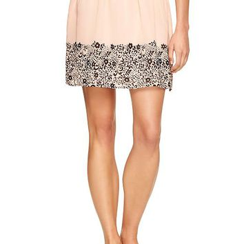 Gap Women Factory Floral Skirt