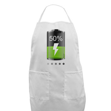 Half Energy 50 Percent Adult Apron