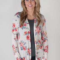 Floral Cardigan - 2 Colors