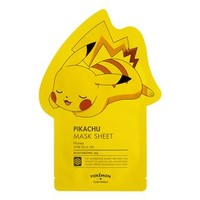 Pokemon Pikachu Mask Sheet (Moisturizing) 1pc