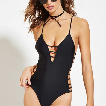Caged One-Piece | Forever 21 - 2000146649