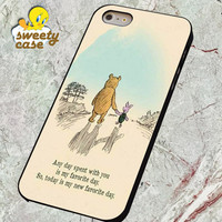 Winnie the pooh quotes  for SMARTPHONE CASE