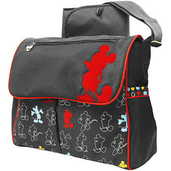 Walmart: Disney - Mickey Mouse in the House Messenger Diaper Bag