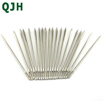 30ps 7cm 1.83mm DIY Stitches Manual Dedicated Leather Tools Triangular Needle Canvas Craftwork Repair Sewing Tool Accessories
