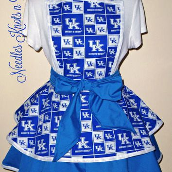 Womens University of Kentucky Wildcats Apron, Kentucky Wildcats Womens Apron, Aprons