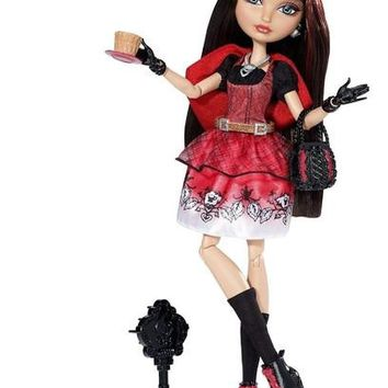 Ever After High Cerise Hood Hat-tastic Party Doll Daughter Of Red Riding Hood