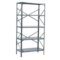 36 in. W x 72 in. H x 18 in. D Steel Commercial Shelving Unit-HDL183672 at The Home Depot