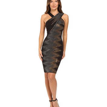 Versace Collection Sleeveless Embellished Dress