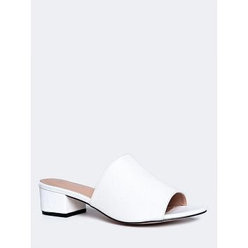 Low Slip On Sandal