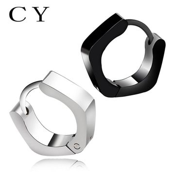 Chunyan Punk Screw Biker Style Stainless Steel Stud Earrings Fashion Jewelry for Men