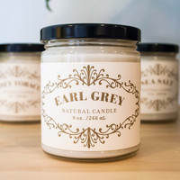 French Apothecary 9oz Candle Earl Grey