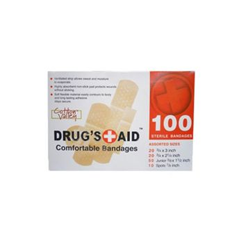 Personal First Aid Bandage Kit (100 Pieces) College Dorm Items Cool Stuff College Safety Supplies Safe In College