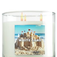3-Wick Candle White Sand