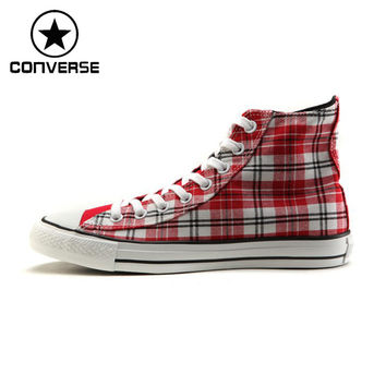 Original ALL STAR high-top canvas skateboarding shoes for men and women