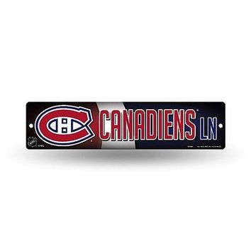 "Montreal Canadiens NHL Hockey 16"" Street Sign Fan Wall Decor"