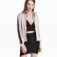 Satin Jacket - from H&M