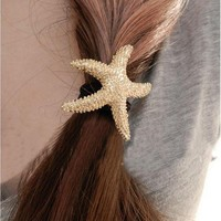 sea star Hair Band Hair Ring
