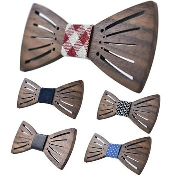Dude! Price drop for the holidays on this Cool Wooden Bowtie