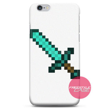 Minecraft Creeper Foam Sword iPhone Case 3, 4, 5, 6 Cover