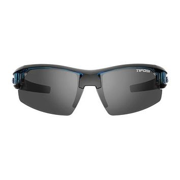 Tifosi - Synapse Crystal Blue Sunglasses / Smoke AC Red Clear Lenses