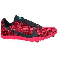 Nike Women's Zoom W 4 Track and Field Shoe - Pink/Black | DICK'S Sporting Goods