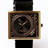 Flud Tableturns Watch - Gold / Black - Punk.com