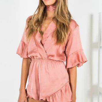 Eastern Dream Romper Blush - New Arrivals
