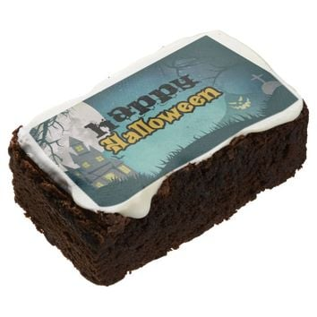 Spooky Haunted House Costume Night Sky Halloween Brownie