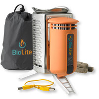 BioLite Camp Stove: Backpacking Stoves | Free Shipping at L.L.Bean