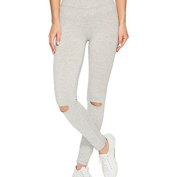 Alternative Cotton Modal Spandex Jersey Slashed Leggings