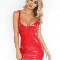 Buy Our Starla Mini Dress in Red Online Today! - Tiger Mist