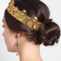 Dolce & Gabbana | Gold-plated filigree crown | NET-A-PORTER.COM