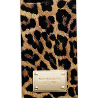 MICHAEL Michael Kors iPhone 5 Case, Cheetah Print - Tech Cases & Accessories - Handbags & Accessories - Macy's