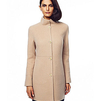 Katherine Kelly Wool & Alpaca Fleece Coat | Dillards.com