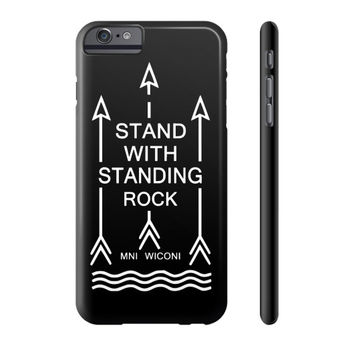 i stand With standing Rock Tee Phone Case