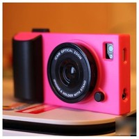 HOTER 3D Vintage Style Camera IPHONE 4 /4S Case - Hot Pink
