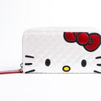 Hello Kitty Patent Long Wallet: Face
