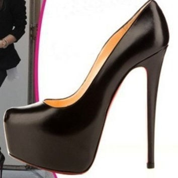 Waterproof Water Proof High Heel Shoes = 4814785988