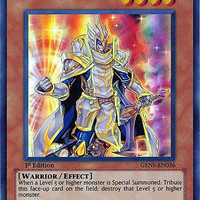 YuGiOh Zexal Generation Force Single Card Absolute Crusader GENF-EN036 Super Rare