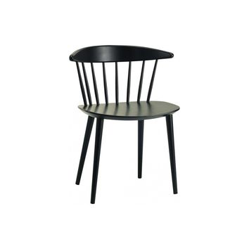 Isolda Dining Chair - Black | Modern, Mid-Century & Scandinavian | GFURN