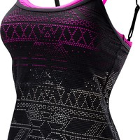 Women's Topaz Peak Mesh Paired Up Swim Tank - Active Swimwear - Swimwear - Womens | TYR