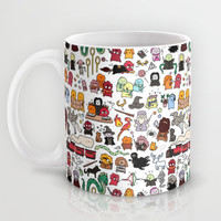 Kawaii Harry Potter Doodle Mug by KiraKiraDoodles