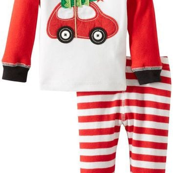 Baby Boys' Holiday Car Lounge Set