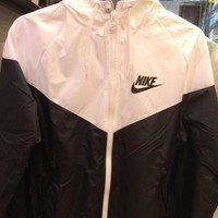 """NIKE"" Trending Women Men Personality Hooded Zipper Cardigan Sweatshirt Jacket Coat Windbreaker Sportswear I"