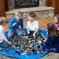 Lay-n-Go: Kids Play Mat - Toy and Lego Storage Bag