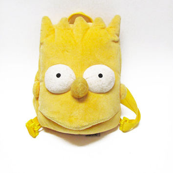90s Bart Simpson Backpack / Club Kid