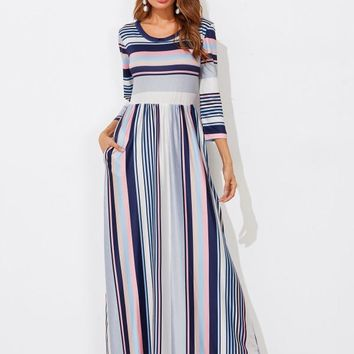 Express Yourself Maxi Dress