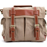 Canvas Camera Bag w/ Shoulder Strap