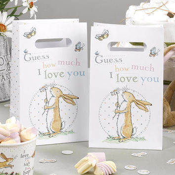 Guess How Much I Love you - Party Bags-Sweet treat bags-Christening day-Baby shower